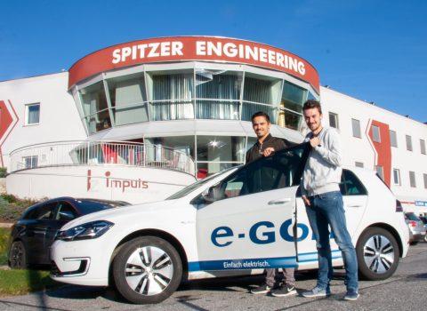 Elektromobilität Fuhrpark Spitzer Engineering E-Auto Elektrofahrzeug E-Rallye